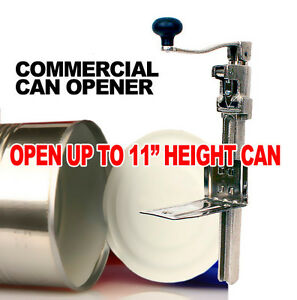 New Mtn 1 Commercial Kitchen Heavy duty Restaurant 11 Large Can Opener