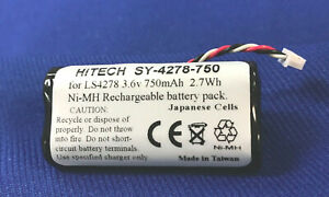 70 Batteries For Symbol btry ls42raaoe 01 japan Nimh 750mah ls4278 Ds6878 eq