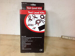 Grainger 4wre7 Test Lead Kit For Multimeter Clamp On Ammeters New In Box