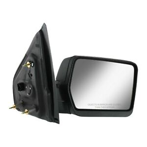 Power Mirror For 2004 2008 Ford F 150 Right Textured Black Manual Folding