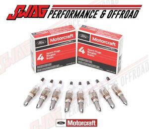 Genuine Oem Ford Motorcraft Updated Spark Plug Set F150 5 4l 3 Valve V8 Sp 546