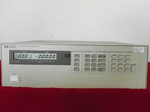 Agilent Hp 6628a Precision Power Supply 50w 2 Outputs Keysight Nist Cal W data