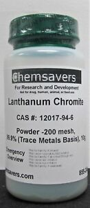 Lanthanum Chromite Powder 200 Mesh 99 9 trace Metals Basis 10g