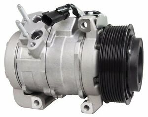 New A C Ac Compressor Fits 2010 2015 Ram 2500 3500 4500 6 7l Cummins Diesel