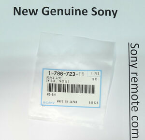 3x New Sony Switch Tactile Button 178672311 For Hxr nx5e Hxr nx5m Hxr nx5n