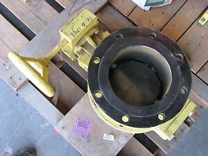 New Allis Chalmers 8 Flanged Butterfly Valve 150psi Body Wcb Disc Cf8m
