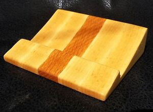 Business Card Holder Solid Wood Maple Red Oak