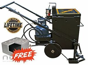 pavemade Hotbox 10 Combo Hot Rubberized Asphalt Crackfiller Melter Sealcoat
