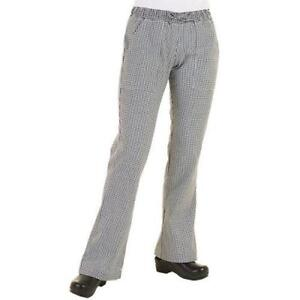 Chef Works Wbaw s Women s Checked Chef Pants s