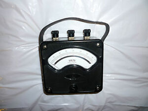 Westinghouse Px 4 Volts Meter