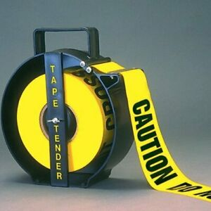 1000 Foot Caution Barricade Tape Dispenser New Low Price Item Tt1010ts
