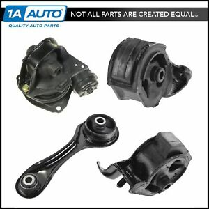 Engine Motor Automatic Transmission Mount Kit Set Of 4 For 90 93 Accord 2 2l