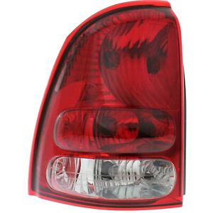 Tail Light For 2004 2007 Buick Rainier Driver Side