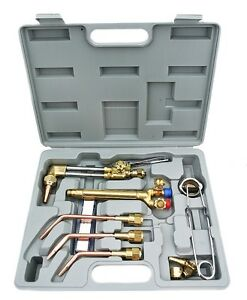 New Victor Type Gas Welding Cutting Kit Oxygen Torch Acetylene Welder Tool Set