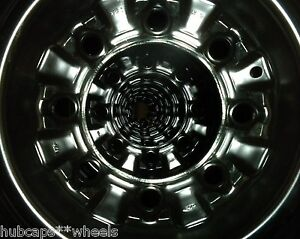 Ford Van E150 E250 8 Lug 2006 2014 Factory Black Steel Wheel Rim F250 F350 Truck