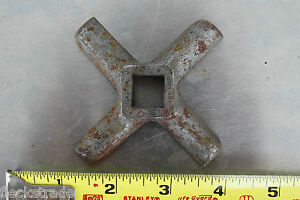 Vintage Hubert L w Germany Meat Grinder Blade 32