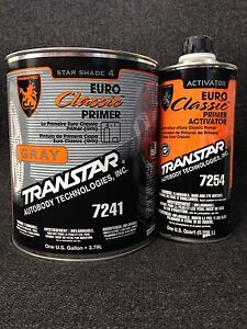 Transtar Euro Classic Primer Kit Gray 7241 7254 gallon