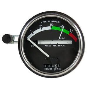 Ar50405 Tachometer White Needle For John Deere Tractor 2510 2520 3020 4020