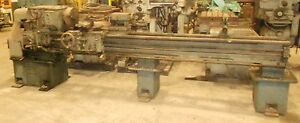 Cincinnati Engine Lathe 18 Inch Swing X 96 Inch Center W tool Holder F8 18285lr