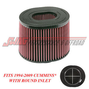 S B Replacement Pre Oiled Intake Filter For 94 09 Dodge Ram 5 9l 6 7l Cummins