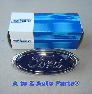 New 1998 2000 Ford Ranger 98 01 Explorer Blue Oval Grille Emblem Oem Ford