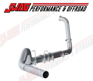 03 07 Ford 6 0l Powerstroke Diesel Mbrp 5 Aluminized Turbo Back Exhaust System