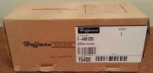 new In Box Hoffman F 44w12ss Stainless Steel Enclosure F44w12ss