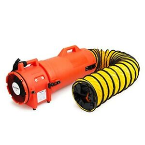 Allegro 9533 25 Com pax ial Confined Space Ventilation Blower W 25 Ducting