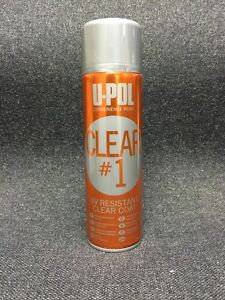 Upol Up0796 Clear 1 Spray Can Clearcoat aerosol Upol Up0796