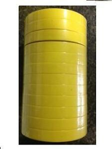 3m 6652 3m 06652 Masking Tape 3 4 Yellow 12 Rolls