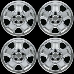 4 Chrome For Honda Ridgeline Pilot 2006 2015 17 Wheel Covers Rim Skins Hub Caps