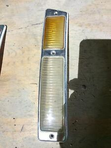 Oem European Mercedes 300 Sl Gullwing 1954 57 Amber Clear Right Tail Light Lens