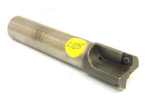Used Waukesha End Mill 1 25 Milling Cutter Cc01a2ar01a 1 shank