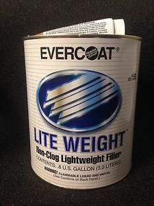 Evercoat 156 Lite Weight Body Filler Fe 156 0 8 Gallon
