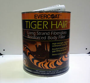 Evercoat 1190 Tiger Hair Long Strand Fiver Reinforced Filler Gallon