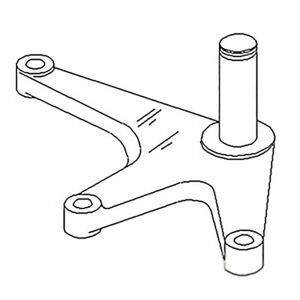 Ar93359 New Bellcrank Made To Fit John Deere Tractor 2440 2640