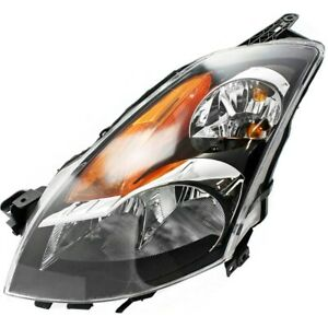 Headlight For 2007 2008 2009 Nissan Altima Sedan Left With Bulb