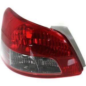Tail Light For 2007 2011 Toyota Yaris Lh Sedan With Sport Package