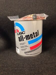 Usc All Metal Aluminum Filled Auto Body Filler Gallon