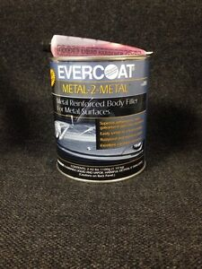 Evercoat Metal 2 Metal Reinforced Filler For Metal Surfaces Quart Fib 889