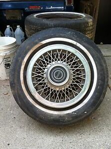 1986 Ford Mustang Tires