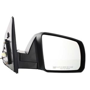 Power Mirror For 2007 2013 Toyota Tundra Passenger Side Heated Textured Black