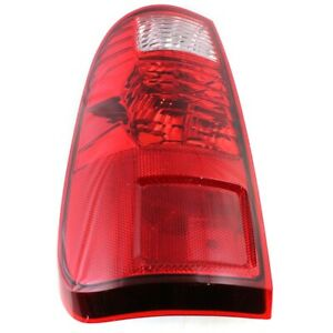 Tail Light For 2008 2016 Ford F 250 Super Duty Xl Lh Clear Red Lens
