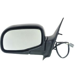 Power Mirror For 1993 2005 Ford Ranger Front Driver Side Manual Fold Black