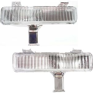 Turn Signal Light For 80 90 Chevrolet Caprice Plastic Lens Left