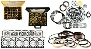 1125513 Rear Cover Housing Gasket Kit Fits Cat Caterpillar 3408 3408b Marine