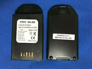 10 Batteries Single Pro Charger ul ce for Psion teklogix 7535 hu3000 1030070