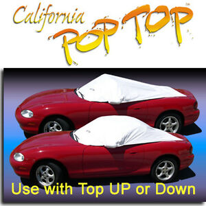 Miata 90 05 Poptop Sun Shade Interior Cockpit Car Cover