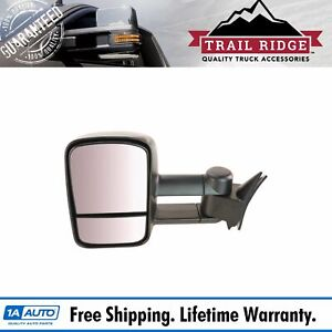 Trail Ridge Towing Mirror Manual Driver Side Left Lh For Chevy Gmc Truck New