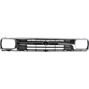 New Grille Assembly Grill Chrome Toyota Pickup Truck 95 94 To1200128 5311135070